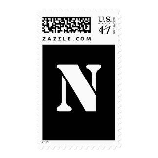 Alphabet Stamp N