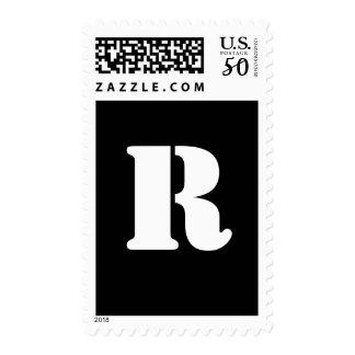 Alphabet Stamp R