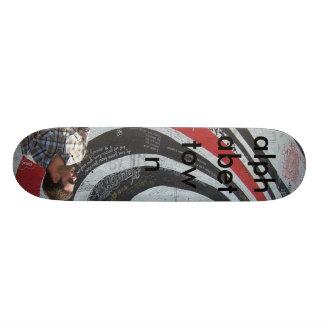 Alphabet Town Skateboard