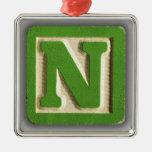 Alphabet Toy Block N Ornaments
