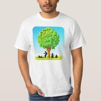 Alphabet Tree T-shirts