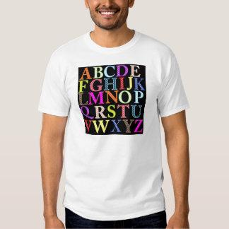Alphabet Tshirt