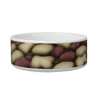 Alphabet Vanilla and Chocolate Cookies Biscuits Bowl