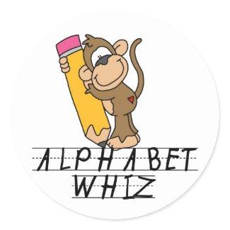 Alphabet Whiz sticker