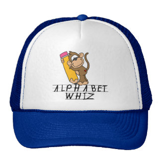 Alphabet Whiz Tshirts and Gifts Hats