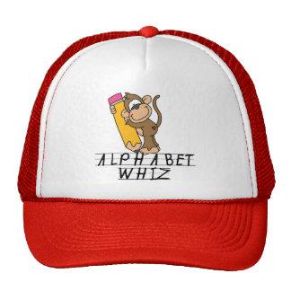 Alphabet Whiz Tshirts and Gifts Trucker Hat