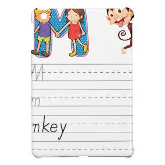 Alphabet worksheet iPad mini case
