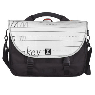 Alphabet worksheet bags for laptop