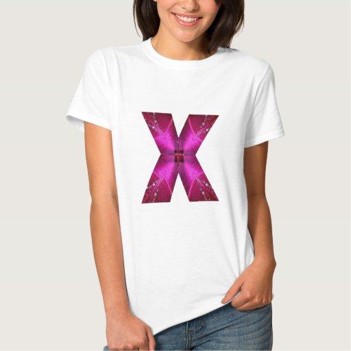 Alphabet X XX Tees