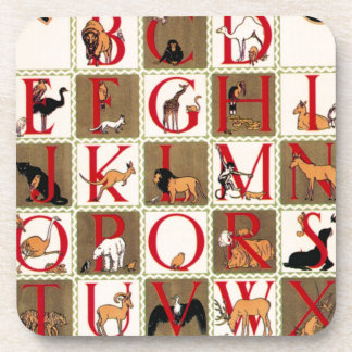 Alphabet Zoo Coaster