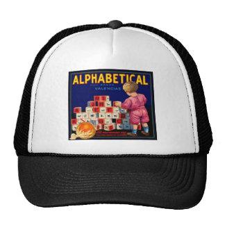 Alphabetical Brand Trucker Hat