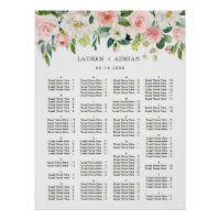 ALPHABETICAL ORDER Wedding Seating Chart