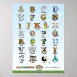 Alphabetimals Plakat - versión de Dansk Impresiones