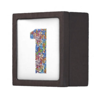 Alphabets n Numbers : Artistic Decorative Jewelry Box
