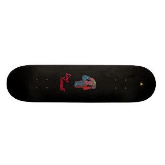 "AlphaCo ""Serve Yourself"" Skateboard."