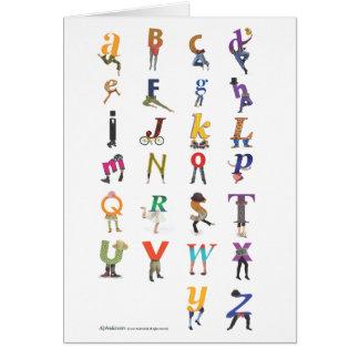 Alphadance Cards