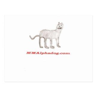 Alphadog del niño postales