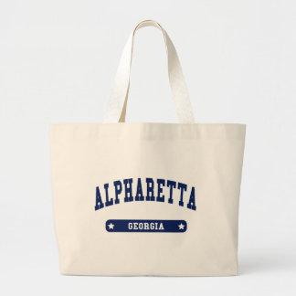 Alpharetta Georgia College Style t shirts Bag