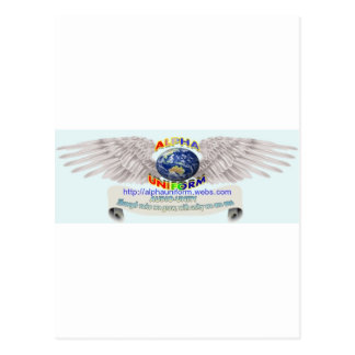 AlphaUniform Merchandise Postcard