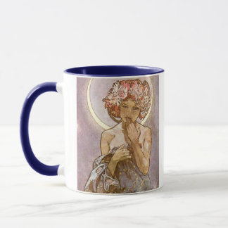 Alphones Mucha ~ The Moon 1902 Mug