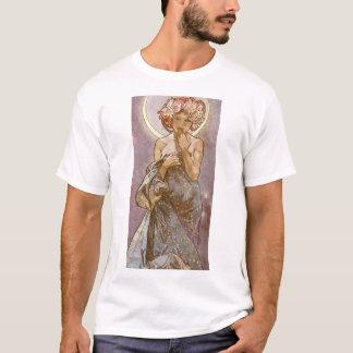 Alphones Mucha ~ The Moon 1902 T-Shirt