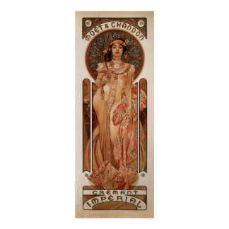 Alphons Mucha Cremant Imperial Poster