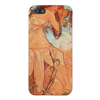 Alphons Mucha  Summer Case For iPhone 5/5S