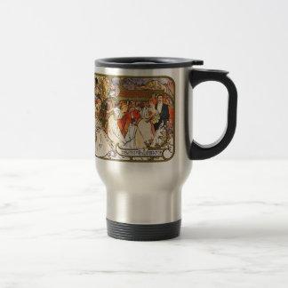 Alphonse (Alfons) Mucha:   Amants Travel Mug