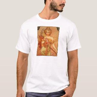 Alphonse (Alfons) Mucha  Bouquet T-Shirt