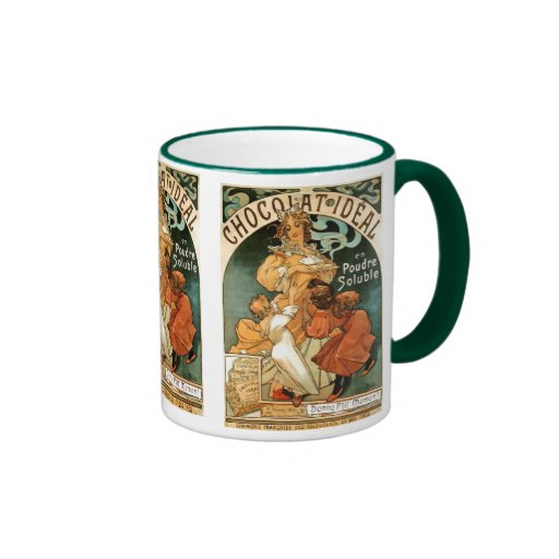 Alphonse (Alfons) Mucha Chocolat Ideal Coffee Mug