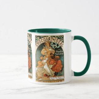 Alphonse (Alfons) Mucha Chocolat Ideal Mug