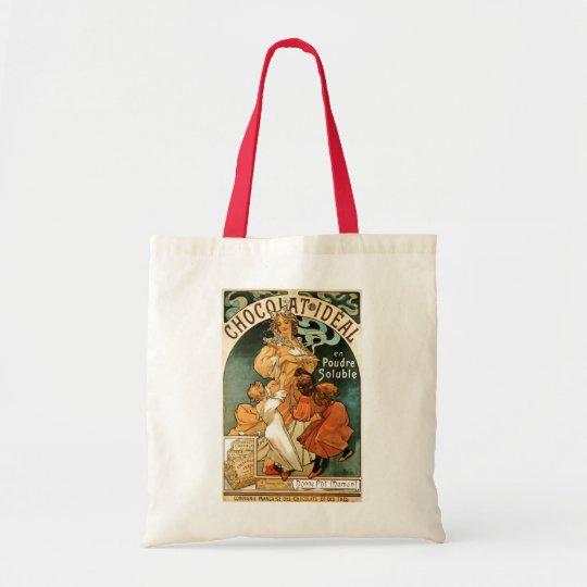 Alphonse (Alfons) Mucha Chocolat Ideal Tote Bag