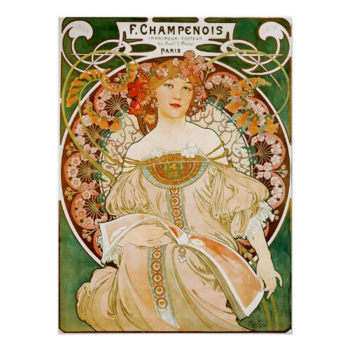Alphonse (Alfons) Mucha Poster:  Champenois posters