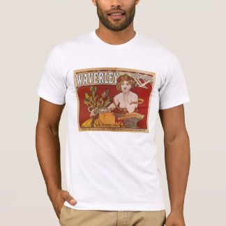 Alphonse ( Alfons ) Mucha ~ Waverley Cycles 1898 T-Shirt