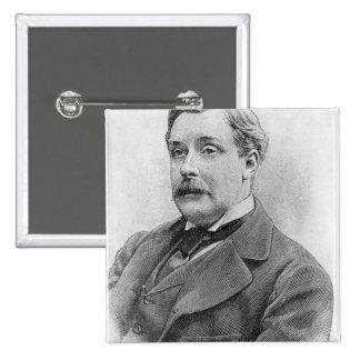 Alphonse Allais  late 19th century Pinback Button