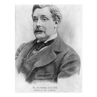 Alphonse Allais  late 19th century Postcard