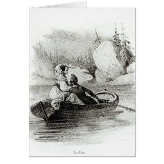 Alphonse de Lamartine  and Elvire Card