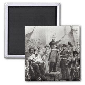 Alphonse de Lamartine en ayuntamiento Imán Cuadrado