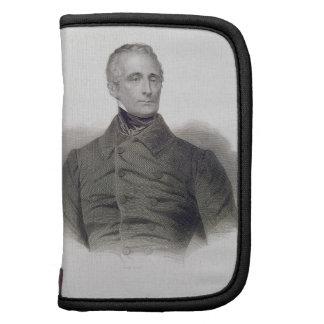 Alphonse de Lamartine, grabado por Pedro Pelee (1 Planificadores
