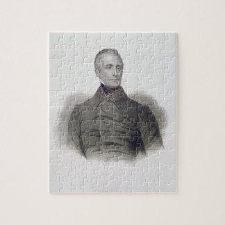 Alphonse de Lamartine, grabado por Pedro Pelee (1 Puzzles