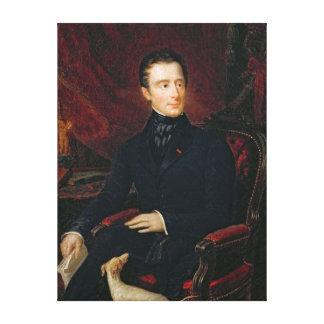 Alphonse de Lamartine Impresiones En Lienzo Estiradas