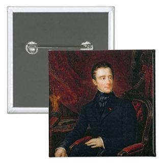 Alphonse de Lamartine Pinback Button