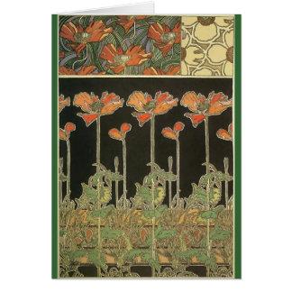 Alphonse Maria Mucha ~ Decoratifs Card