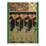 Alphonse Maria Mucha ~ Decoratifs Postcards