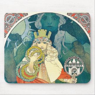 Alphonse Mucha 6th Sokol Festival, 1912 Mouse Pads