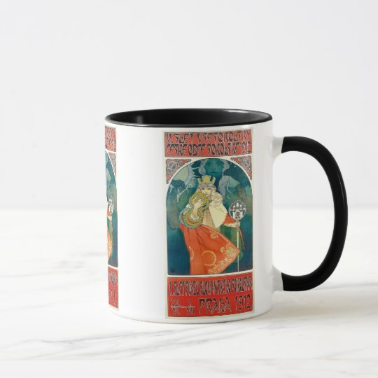 Alphonse Mucha  6th Sokol Festival, 1912 Mug