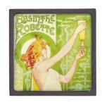 Alphonse Mucha Absinthe Robette Gift Box Premium Trinket Boxes