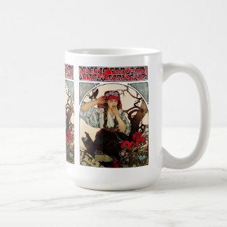 Alphonse Mucha and Moravian Teachers' Choir Coffee Mug