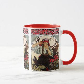Alphonse Mucha and Moravian Teachers' Choir Mug