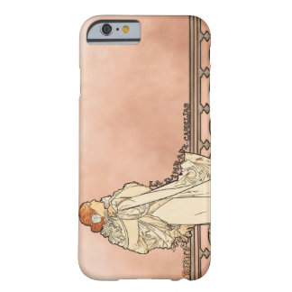 Alphonse Mucha Art Deco Barely There iPhone 6 Case